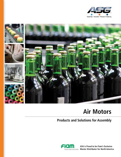 Air Motors Products and Solutions for Assembly