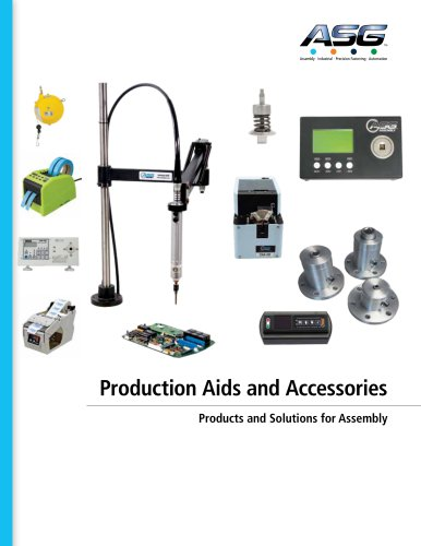 ASF Production Aids and Accessories