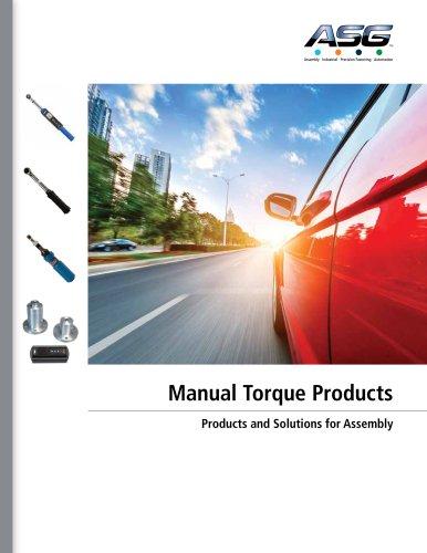 ASG Manual Torque Catalog