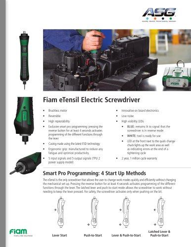 Fiam eTensil Electric Screwdriver