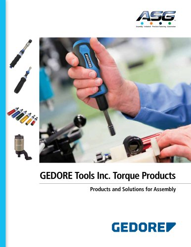 GEDORE Tools Inc. Torque Products