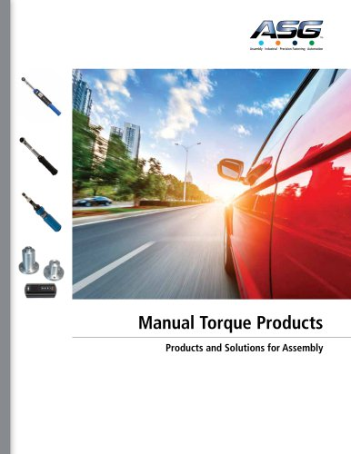 Manual Torque Products