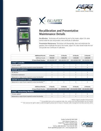 X-Guard™ For Sd2500 X-Paq™