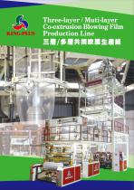 Three-layer / Multi-layer Co-extrusion Blowing Film Production Line