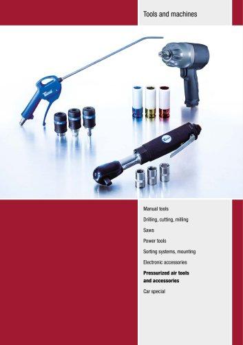Compressed air tools