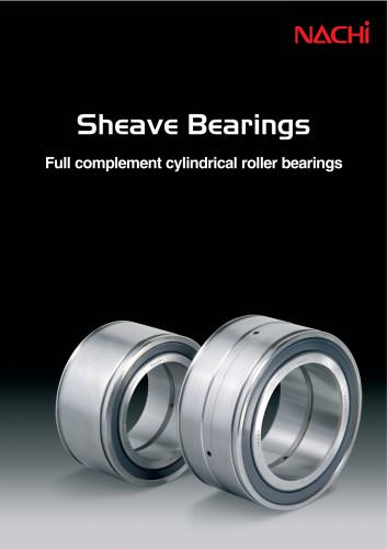 Nachi Sheave Bearings Catalog