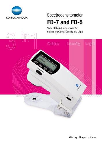FD-5/FD-7 SPECTRODENSITOMETER