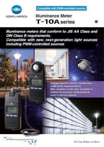Illuminance Meter T-10A series