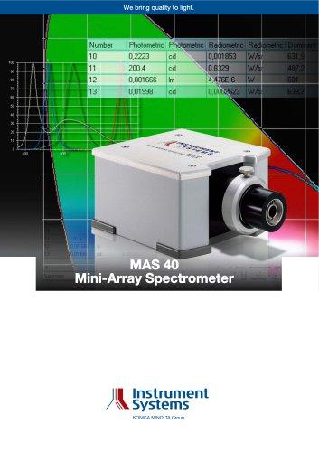 MAS 40 Mini-Array Spectrometer