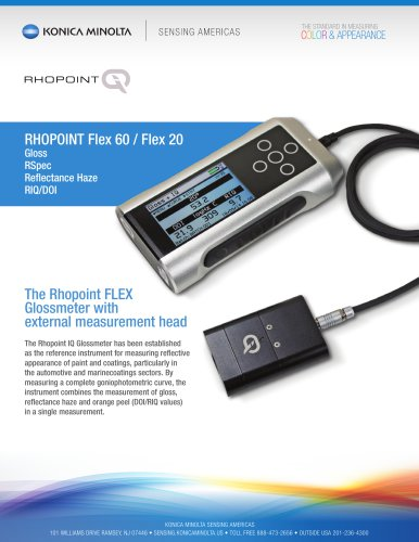 Rhopoint IQ FLEX 20