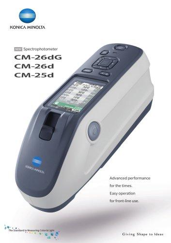 Spectrophotometer CM-26dG/CM-26d/CM-25d