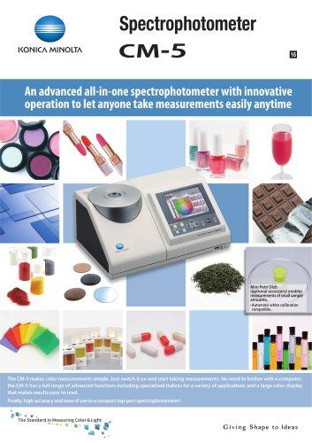 Spectrophotometer CM-5