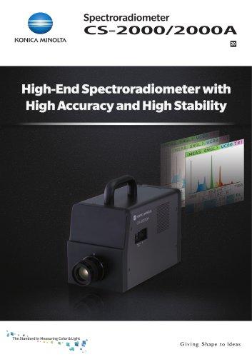 Spectroradiometer CS-2000/2000A