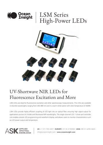 LSM Series LED Light Sources