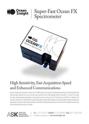 Ocean FX Spectrometer