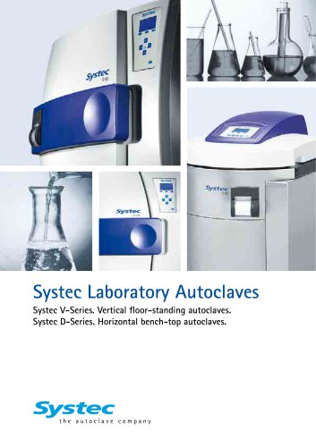 Systec Laboratory Autoclaves