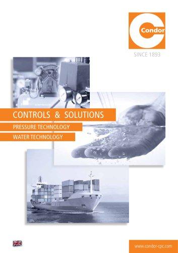 """CONDOR Main Catalogue 2017 """"Controls & Solutions"""""""
