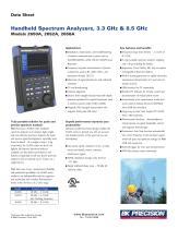 2650A Series Handheld Spectrum Analyzers
