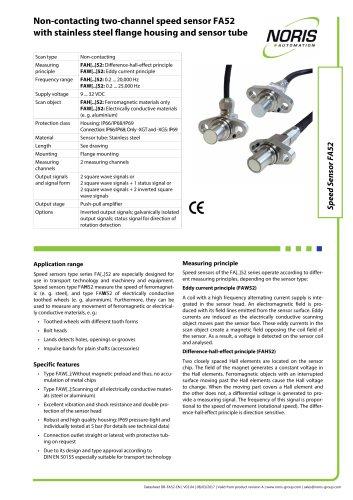 Datasheet FAH52