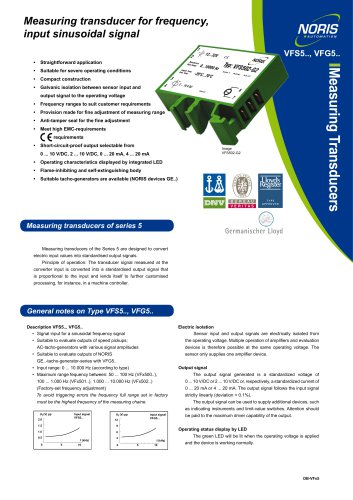 Datasheet VFS5