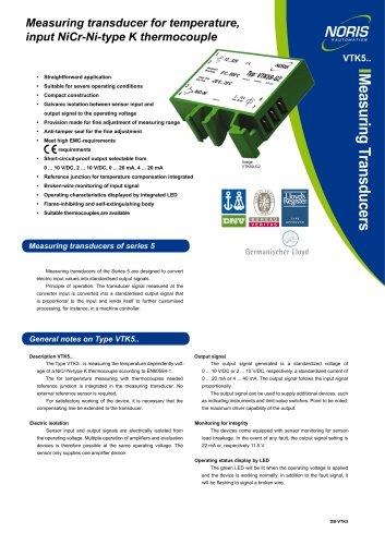 Datasheet VTK5