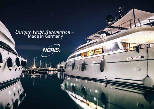 NORIS yacht brochure