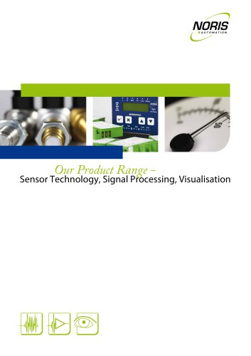 Sensor Technology, Signal Processing, Visualisation