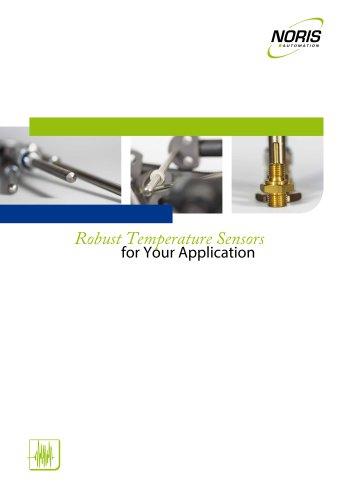 Temperature Sensor Overview Brochure