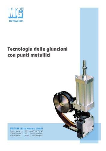 Tecnologia delle giunzioni con punti metallici