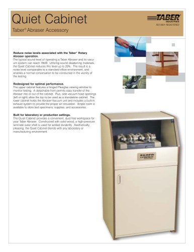 TABER Quiet Cabinet (for Taber Abraser)