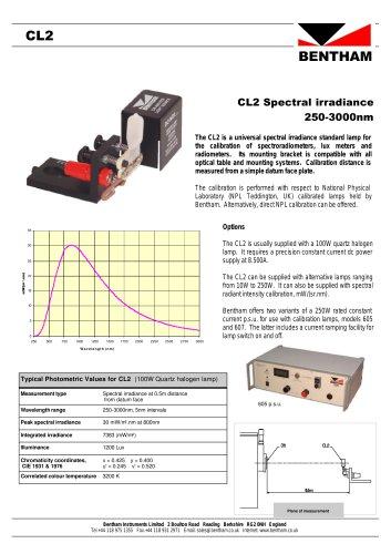 CL2 Spectral Irradiance Standard