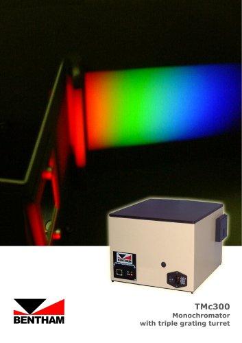 TMc300 Triple Grating Monochromator