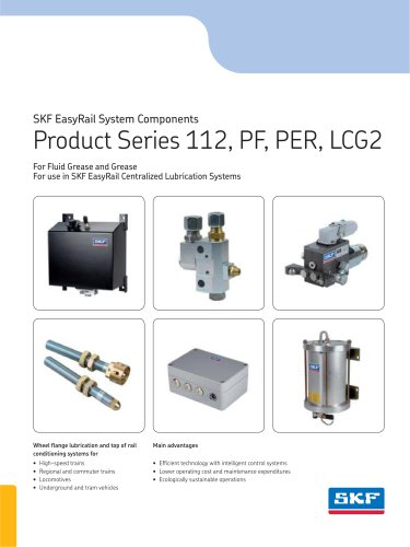 SKF EasyRail System Components