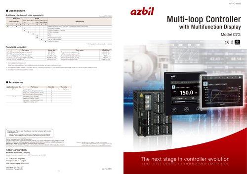 Multi-Loop PID Controller with Multifunction Display C7G