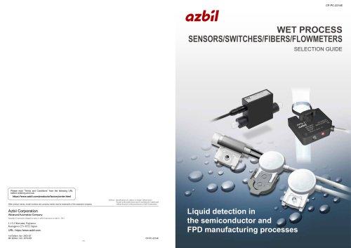 WET process sensors