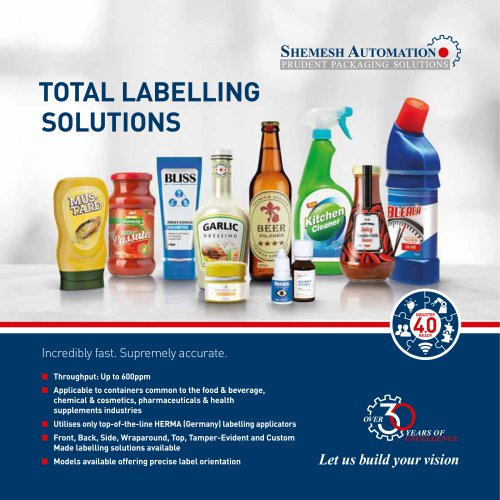 Total Labelling Solutions