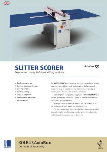 KOLBUS AutoBox Slitter Scorer