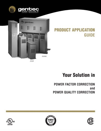 Capacitor Banks product application guide
