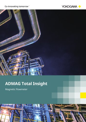 ADMAG Total Insight Magnetic Flowmeter