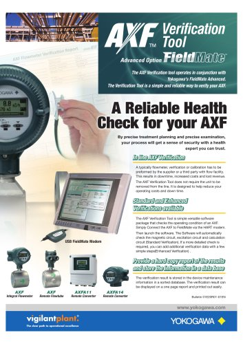 AXF Verification Tool