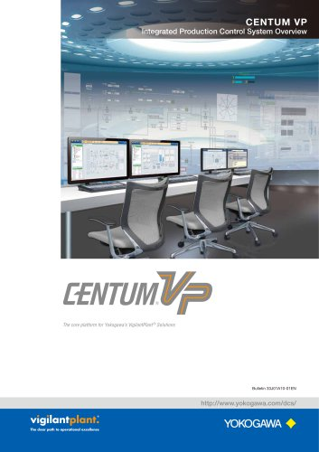 CENTUM VP Integrated Production Control System Overview