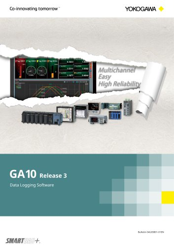 Data Logging Software GA10