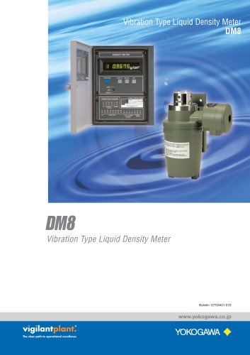 DM8 Vibration Type Liquid Density Analyzer