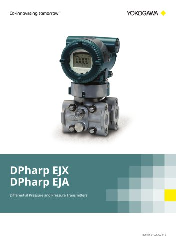 DPharp series Differential Pressure and Pressure Transmitters
