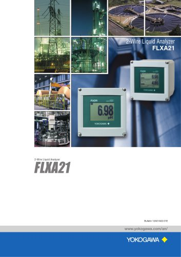 FLXA21 2-Wire Liquid Analyzer