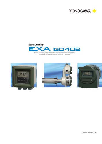 GD402 Gas Density Analyzer