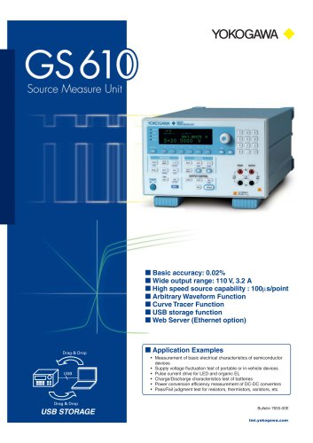 GS610 Source Measure Unit