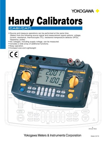 Handy Calibrators