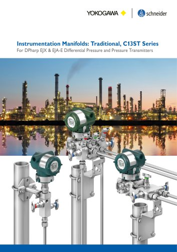 Instrumentation Manifolds: Traditional, C13ST Series