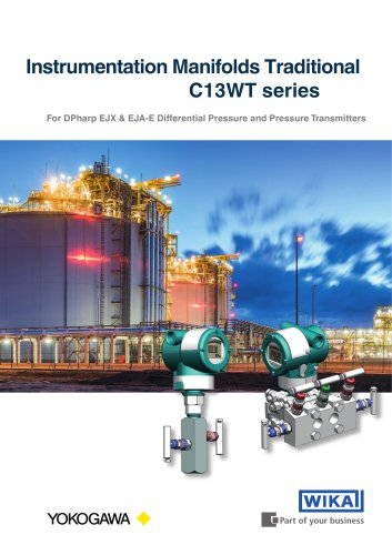 Instrumentation Manifolds Traditional C13WT seri